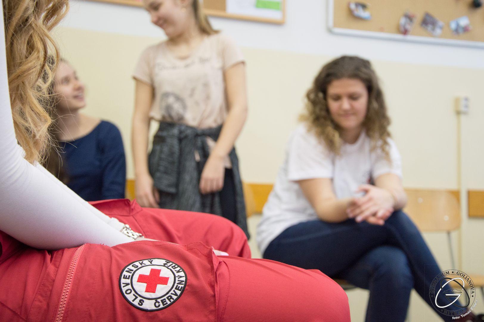 Nácvik prvej pomoci s Červeným krížom