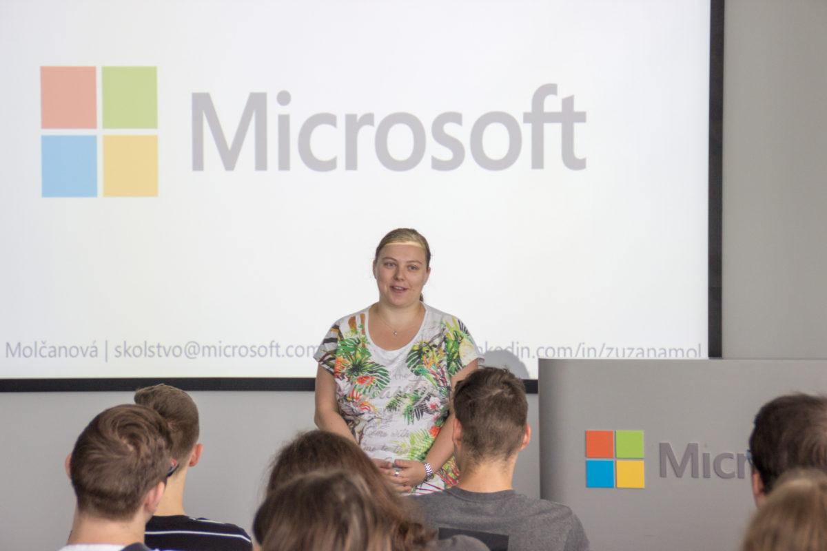Exkurzia v Microsoft