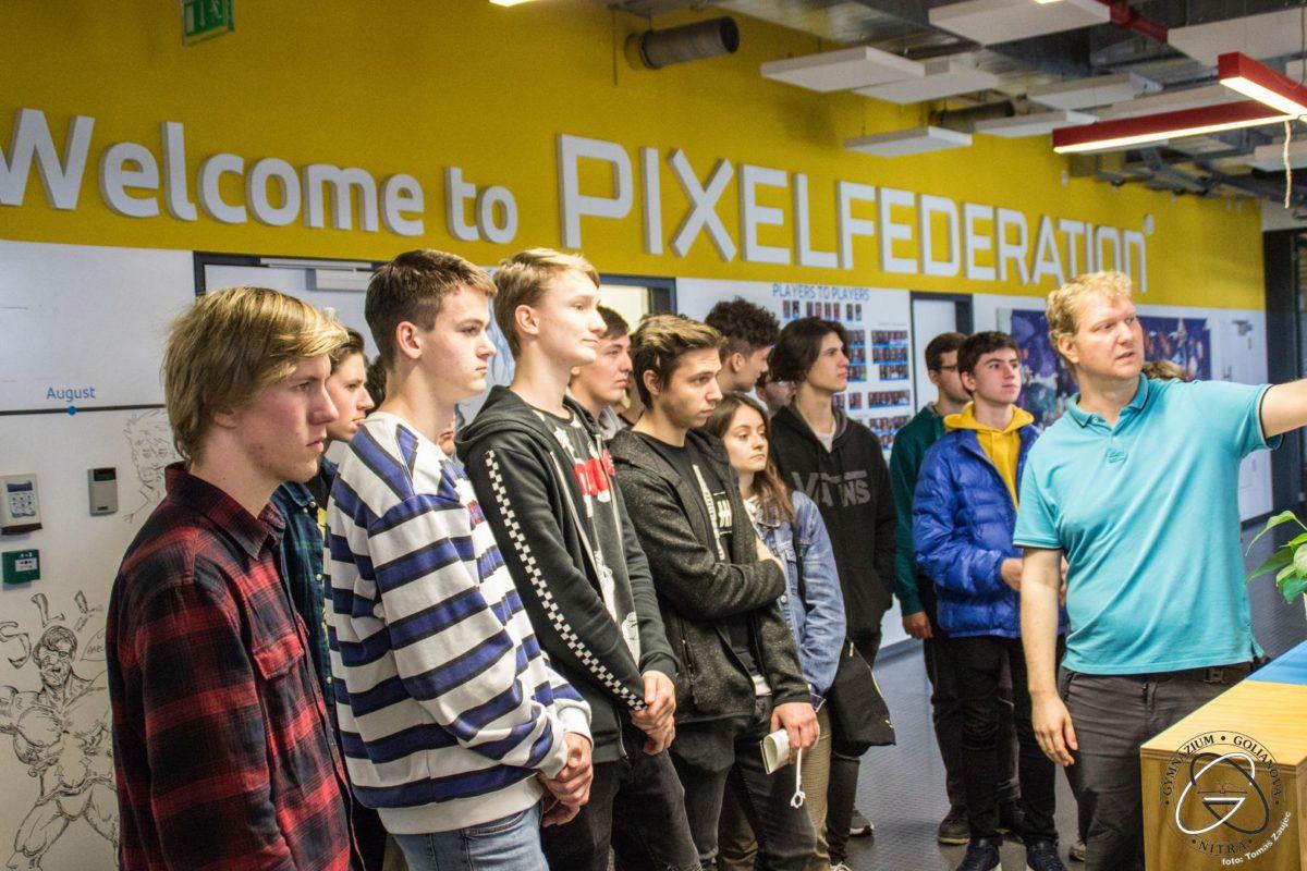 Exkurzia PixelFederation 2019